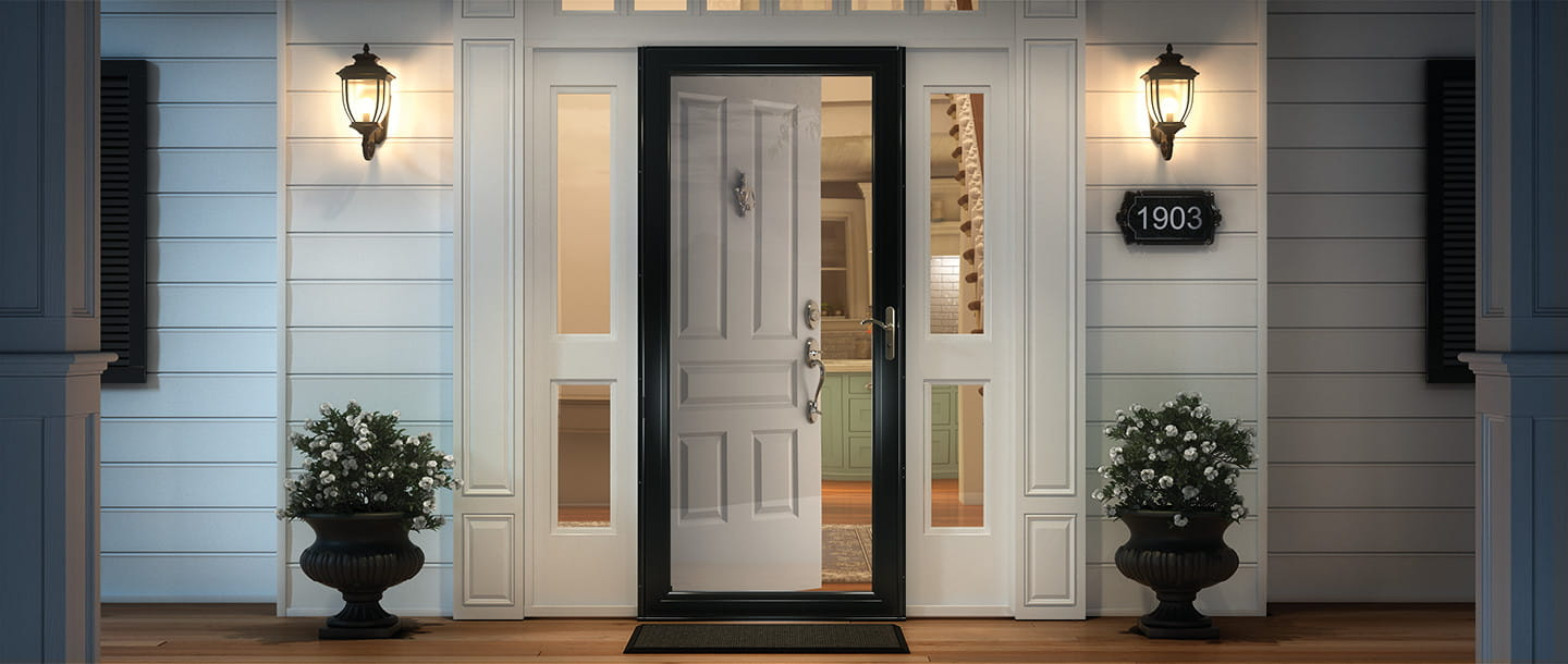 exterior solid Lacquered wooden door