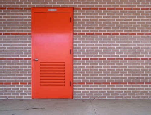 what is fire rated door !